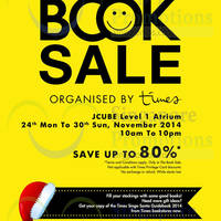 Read more about Times Bookstores Book Sale @ Jcube 24 - 30 Nov 2014