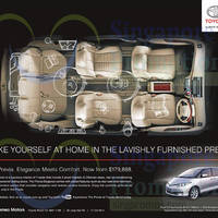 Read more about Toyota Previa Features & Offer 22 Nov 2014