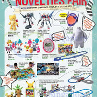 Isetan Christmas Toys Novelties Fair @ Jem 8 - 21 Dec 2014