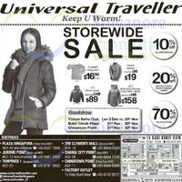 Universal Traveller Roadshow @ Chinatown Point 21 - 30 Nov 2014