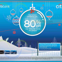 Read more about Citibank Up To 80% Off Perfect Christmas Gift Promotion 13 Nov - 31 Dec 2014