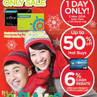Read more about Watsons Up To 50% Off 1-Day Sale 5 Nov 2014