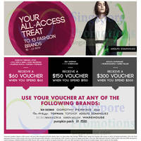 Read more about Fashion Fast Forward Brands Spend & Get Up To $300 Voucher 10 - 23 Nov 2014