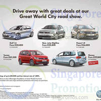 Read more about Volkswagen Great World City Roadshow 14 - 18 Nov 2014