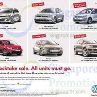 Read more about Volkswagen Stocktake Sale Offers 1 - 2 Nov 2014