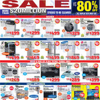 Audio House Electronics, TV, Notebooks & Appliances Offers @ Bendemeer 22 - 24 Nov 2014