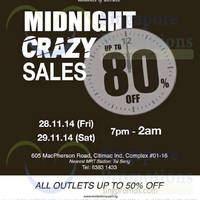 Winter Time Midnight Crazy Salee @ Citimac 28 - 29 Nov 2014