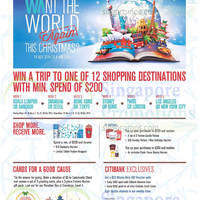 Wisma Atria Christmas Promotions & Activities 14 Nov 2014 - 4 Jan 2015