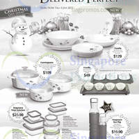 World Kitchen Corelle, Corningware & Snapware Christmas Offers 21 Nov 2014 - 4 Jan 2015