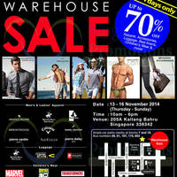 Read more about YG Marketing Warehouse SALE Up To 70% OFF 13 - 16 Nov 2014