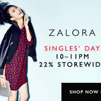 Read more about Zalora 22% OFF Storewide 1hr Promo 11 Nov 2014