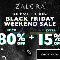 Read more about Zalora Black Friday Promotion & Additional 15% Off Coupon Code 28 Nov - 1 Dec 2014