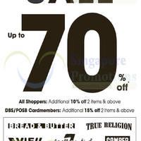 Read more about Evisu, Camper, Bread & Butter, True Religion & More Sale 4 Dec 2014