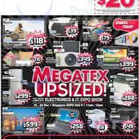 Read more about Megatex 2014 (19 - 28 Dec) Electronics & IT Expo Show @ Singapore Expo 19 - 28 Dec 2014