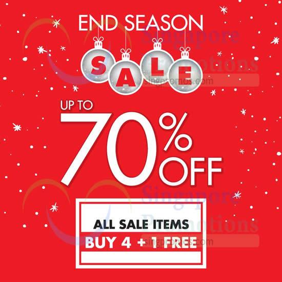 23 Dec All Sale Items Buy 4 Get 1 Free