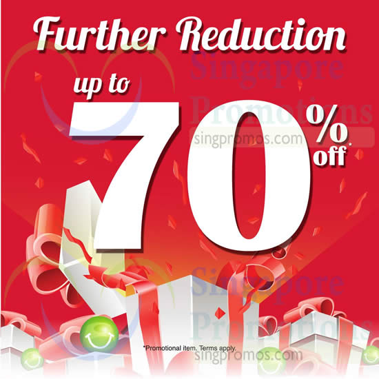 26 Dec Further Reductions Up to 70 Percent Off