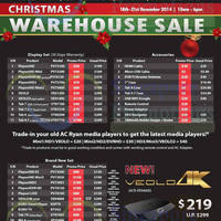 Read more about AC Ryan Christmas Warehouse Sale 18 - 21 Dec 2014