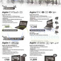 Read more about Acer Notebooks & Desktop PCs Offer 10 - 31 Dec 2014