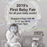 Adorable Baby Fair @ Singapore Expo 9 - 11 Jan 2015