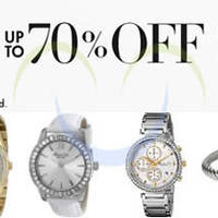 Amazon Up To 70% Off Gift Jewellery & Watches 24hr Promo 22 - 23 Dec 2014