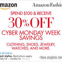 Read more about Amazon.com 30% OFF Clothing, Shoes, Jewellery & More Coupon Code 4 - 7 Dec 2014