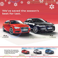 Read more about Audi A3 Sportback, Q3, A4, A6 & Q5 Offers 13 Dec 2014