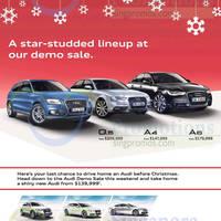 Read more about Audi A7 Sportback, Q3, A4, A5, A6 & Q5 Offers 20 Dec 2014