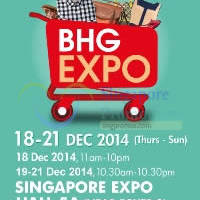 Read more about BHG Expo SALE @ Singapore Expo 18 - 21 Dec 2014