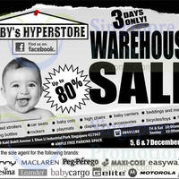 Read more about Baby Hyperstore Warehouse Sale 5 - 7 Dec 2014