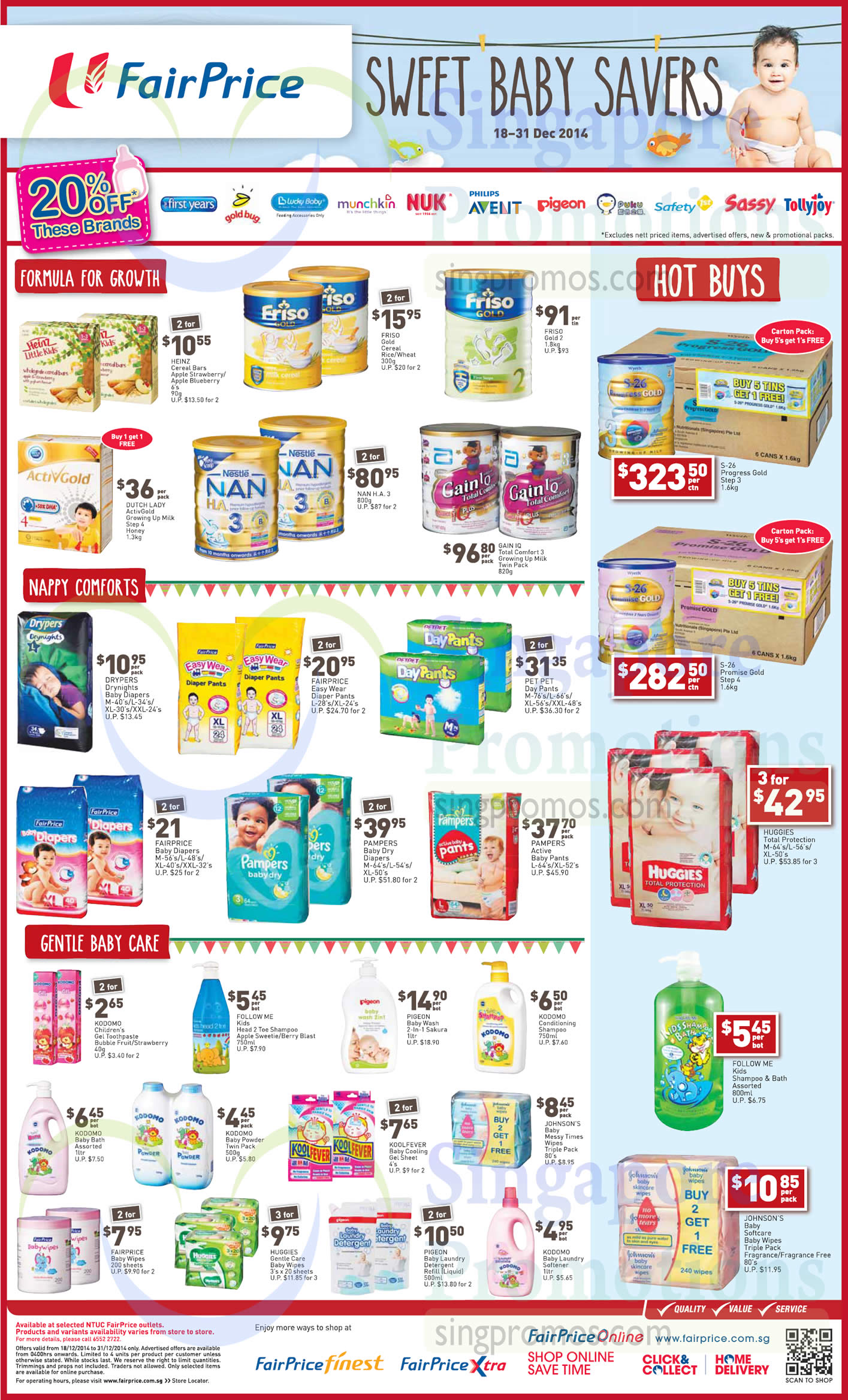 Friso Gold 2, Dutch Lady ActivGold Growing Up Milk Step 4 Honey, Nestle NAN H.A. 3, Abbott Gain IQ Total Comfort 3 Growing Up Milk Twin Pack, Pet Pet Day Pants, Pampers Baby Dry Diapers, Pampers Active Baby Pants, S-26 Progress Gold Step 3, S-26 Promise Gold Step 4, Huggies Total Protection