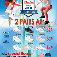Read more about Bata Back To School From $29 Bundle Offers 12 Dec 2014