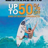 Billabong End of Season Sale 29 Dec 2014