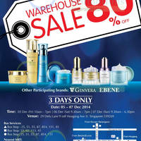 Read more about Bio-Essence, Ebene & Ginvera Warehouse SALE 5 - 7 Dec 2014