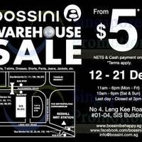 Read more about Bossini Warehouse SALE 12 - 21 Dec 2014