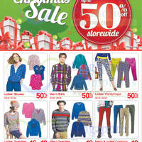 Bossini Christmas Sale 18 Dec 2014