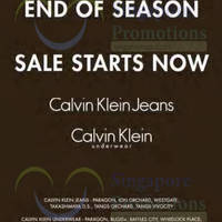 Read more about Calvin Klein Jeans & Underwear End of Season Sale 12 Dec 2014