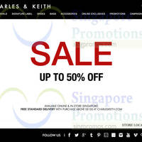 Read more about Charles & Keith End of Season SALE 26 Dec 2014
