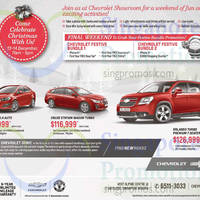Read more about Chevrolet Sonic, Cruze Station Wagon & Orlando Offers 13 Dec 2014