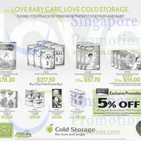 Read more about Cold Storage 5% OFF Baby Milk Powder For Passion Cardmembers 12 - 14 Dec 2014