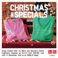 Read more about Uniqlo Islandwide Limited Offers 5 - 11 Dec 2014