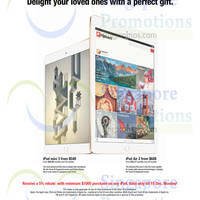 Read more about Courts Apple iPads 5% Rebate Promo 12 - 15 Dec 2014