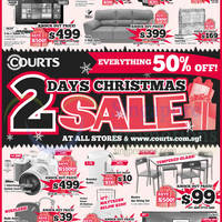 Read more about Courts 2 Days Christmas Sale 25 - 26 Dec 2014