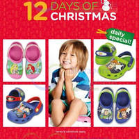Crocs 30% Off Selected Licensed Kids Clogs 1-Day Promo 18 Dec 2014