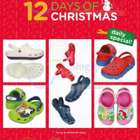 Crocs 50% Off Second Clogs 1-Day Promo 22 Dec 2014