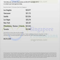 Read more about Delta Air Lines From $1077 North America Promo Air Fares 16 - 31 Dec 2014