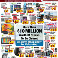 Audio House Electronics, TV, Notebooks & Appliances Offers @ Liang Court 20 - 29 Dec 2014