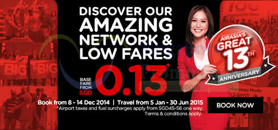 Fares From 0.13