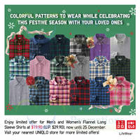 Uniqlo Islandwide Limited Offers 19 - 25 Dec 2014