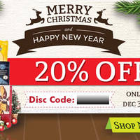 FlowerAdvisor 20% OFF Storewide Coupon Code 26 - 31 Dec 2014