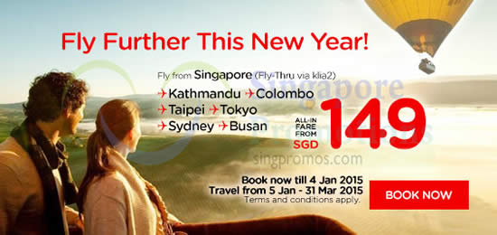 Fly Further This Year From SGD149